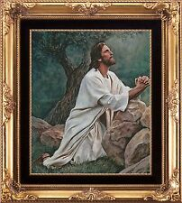 JESUS IN THE GARDEN PRAYING~COUNTED CROSS STITCH PATTERN ONLY