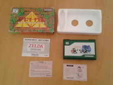 NINTENDO GAME&WATCH MULTISCREEN ZELDA ZL-65 VERY GOOD BOXED WITH INSTRUCTIONS!!!