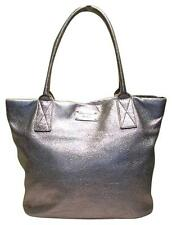 KATE SPADE Silver Sparkly Leather Tote