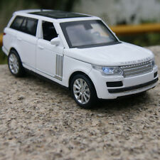 Land Rover Range Rover Car Model 1:32 SUV Pull Back Alloy Diecast Toy gift White