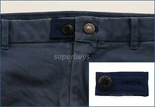 Blue Pants Shorts Jeans Trouser Waist Extension Expander Extend Size Button