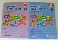 Singapore Primary Math 2 Workbooks 6A and 6B US ED - FREE Expedited Shipping
