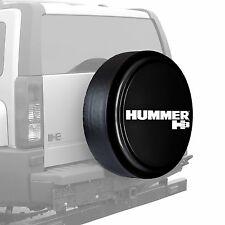 "32"" Hummer H3 Logo - Rigid Tire Cover - Painted - Black"