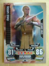 Force Attax Star Wars Serie 3 (2012), Mace Windu (197),Star-Karten