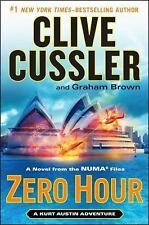 Zero Hour Clive Cussler and Graham Brown a novel from the Numa Files 2013 Hardbk