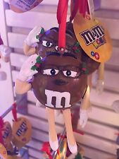 M&M's World Brown Holiday Christmas Ornament New with Tags