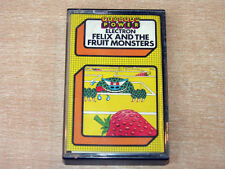 Acorn Electron - Felix And The Fruit Monsters by Program Power