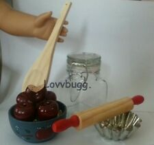 "Lovvbugg Apples Canning Day Doll Food  for 18"" American Girl Doll Cool Stuff!"