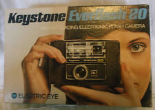 Vintage KEYSTONE EVERFLASH 20 Camera With Box & Directions