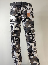 Men's FOCUS Army Camo Cargo Pants Sizes: 32 TO 44