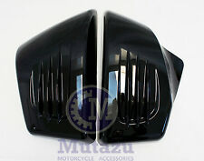 Custom Vivid Black side cover FITS Honda ACE Tourer Sabre 1100 VT1100 VT1100C2