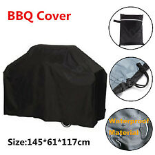 BBQ Cover Outdoor Waterproof Barbecue Cover Garden Patio Gas Grill Protector 57""