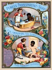 Pears Shaving Soap reproduction Advertising Poster A4 photo children 2