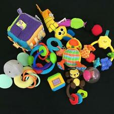 Lot 9 Infant Baby Learning Development Toys Fisher Price Infantino Taggies