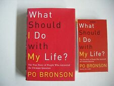 WHAT SHOULD I DO WITH MY LIFE?~BK & AUDIO~PO BRONSON~*PERSONAL INTERVIEW ANSWERS
