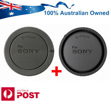 HQ Compatible Rear Body Lens Caps for Sony FE E Mount Lenses NEX ALC-R1EM B1EM