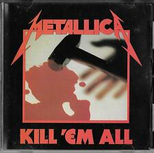 METALLICA Kill 'Em All CD 1987 ORG st PRESS !!!! Megaforce Records ‎– MRI CD 069