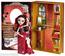 Ever after high Royal Lizzie Hearts Doll Spring Unsrung Book Queen of Hearts New