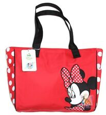 Disney Minnie Mouse Diaper Bag Red Polka Dot Tote 18479, New