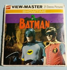 "Vintage 1976 BATMAN VIEW-MASTER REELS with booklet ""The Purr-Fect Crime"""