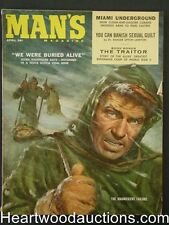 """Man's"" April 1959 Claudia Cardinale, Bob Schulz Cvr, Vic Prezio"