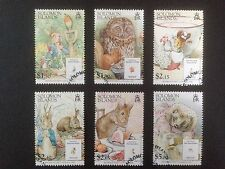 Solomon Islands 2006 Beatrix Potter Set SG 1216-1221 Fine Used