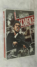 Scarface: Steelbook Limited  Edition - (Blu-ray + DVD) BRAND NEW & SEALED