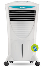 Symphony Hicool i 31-Litre Air Cooler with Remote (White) (SMP2)