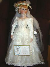 "Court of Dolls ""Annie the Bride Doll "" LARGE 28"" Design by Jenny Number 785 NIB"