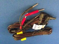 "2 Electrode TENS Unit Lead Wires w/ Pin Connectors, 45"" - 2 wires,Fast Shipping!"