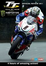 Isle of Man TT - Official review 2011 (New DVD) McGuinness Martin Dunlop Anstey