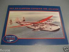 2013 Pan Am Airlines  Calendar / PAN AM CLIPPERS CONQUER THE ATLANTIC PAA