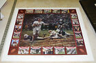 Alabama Football RUN IN THE MUD Daniel Moore KENNY STABLER Museum Edition of 100