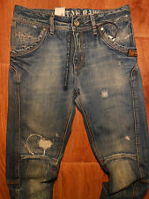 G-Star RAW JACK PANT TAPERED WOMENS JEANS DISTRESSED Size 26-32 NEW with TAGS