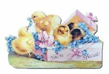 Victorian Turn Of The Century Valentine Easter Card You'Re Special Chick #Mag123