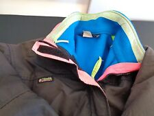 COLUMBIA Women's BUGABOO Vintage 3 In 1 Jacket Vest XL Retro FREE SHIP Winter