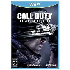 Very Good Condition Call of Duty: Ghosts (Nintendo Wii U, 2013) PAL