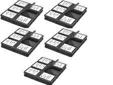 Lot of 5 (5Pcs) Memory Card Case Foldable With 12 Slot For SD SDHC Micro HD Card