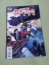 GEMINI BLOOD - DC HELIX COMIC-USA - DEC 1996  #4 - GOOD