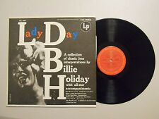Billie Holiday JAZZ/SWING LP (COLUMBIA CL 637) Lady Day VG+ MONO