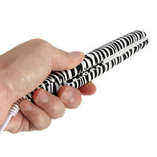 "Jeegol Mini 0.5"" Nano Titanium Dual Voltage Mini Travel Zebra Hair Straightener"