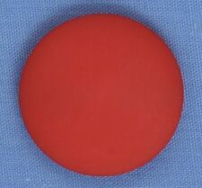 22mm Red Shank Button