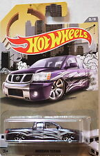 HOT WHEELS RAD TRUCK SERIES 2016 NISSAN TITAN BLACK 1:64