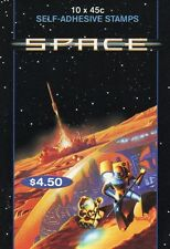 2000 AUSTRALIAN STAMP BOOKLET SPACE 10 x 45c STAMPS MUH