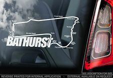 Bathurst - Car Window Sticker - Mount Panorama Circuit Track 1000 Peter Brock