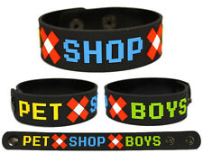 PET SHOP BOYS Rubber Bracelet Wristband Fundamental Elysium Electric
