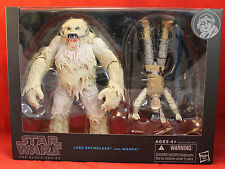 "Star Wars The Black Series 6"" Luke Skywalker and Wampa 2015 Hasbro"