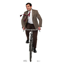MR. BEAN ON BICYCLE Rowan Atkinson BBC CARDBOARD CUTOUT Standup Standee Poster