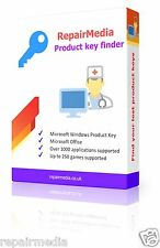 Clés de produit licence finder windows 10 8.1 8 7 vista xp recovery dvd pc portable