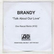 (HB438) Brandy, Talk About Our Love - DJ CD